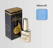 Гель-лак для ногтей «Milena» 05 Арго (бескислотный, гипоаллергенный, высоко пигментированный состав, не течет)