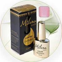Гель-лак для ногтей «Milena» 28 Арго (бескислотный, гипоаллергенный, высоко пигментированный состав, не течет)