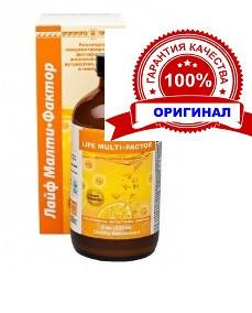 Лайф Малти Фактор Коллоидная фитоформула Арго (витаминно-минеральный комплекс, укрепление иммунитета)