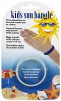 Браслет индикатор ультрафиолетового излучения УФ Арго для детей (Резиновый браслет, изменяющий цвет)