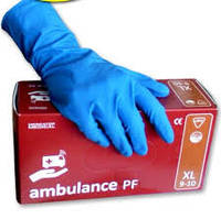 Перчатки диагностические Ambulance PF