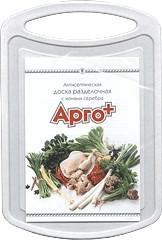 Антисептическая разделочная доска «Арго-Плюс» (содержит частицы серебра, убивает бактерии, запах, микробы)