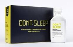 Не Спи (Don't Sleep А) Арго инновационный коктейль против сонливости, усталости, придает бодрость