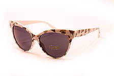 Cолнцезащитные очки в белой оправе 99010-3, фото 2