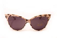 Cолнцезащитные очки в белой оправе 99010-3, фото 3