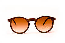 Круглые очки дерево (9015-4), фото 3