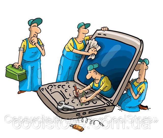 Замена моста, видеочипа ноутбука в Донецке
