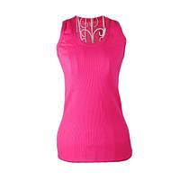 Женская майка для фитнеса 0080, розовый