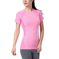 Женская футболка для фитнеса 0111, розовый