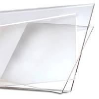 Прозрачное пластиковое органическое стекло (плексиглас/акрил)