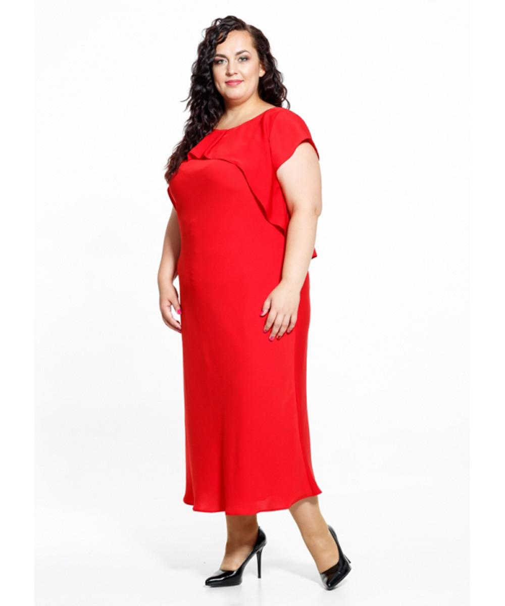 Платье Petro Soroka модель МС 2279-74 красный