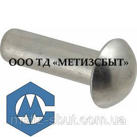 Заклепка Алюмінієва ГОСТ 10299-80; DIN 660; від Ø3-Ø12 (від 10 кг)