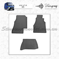 Комплект резиновых ковриков Stingray для автомобиля  VOLKSWAGEN LT 2 1995-2006   3шт.