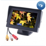 Дисплей LCD 4.3 дюйма для двух камер 363