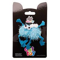 Игрушка Comfy Fluffy для кошек лягушка, 5 см