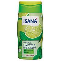 Гель для душа ISANA Duschgel Limette & Basilikum 300 ml