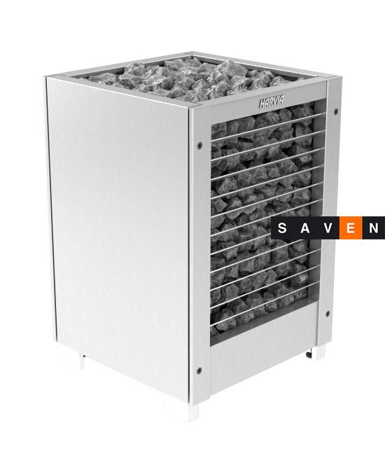 Электрическая печь (каменка)  Harvia Modulo MDS135H steel для сауны и бани
