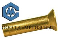 Заклепка ГОСТ 10300-80; DIN 661;от Ø3-Ø12  Медь