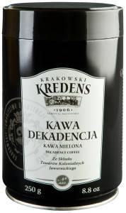 Кофе молотый  Dekadencja Krakowski Kredens, 250г