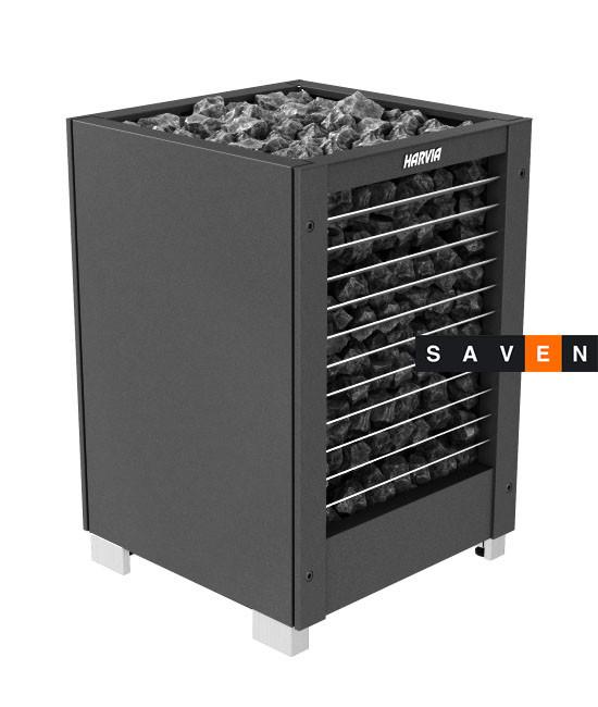 Электрическая печь (каменка)  Harvia Modulo MD160H черная для сауны и бани