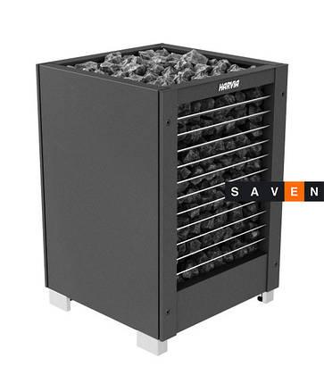 Электрическая печь (каменка)  Harvia Modulo MD160H черная для сауны и бани, фото 2