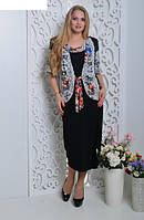 Женское летнее платье, ботал 66-70 размеры