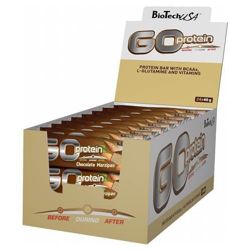 BioTech GO Protein Bar 24шт х 40г