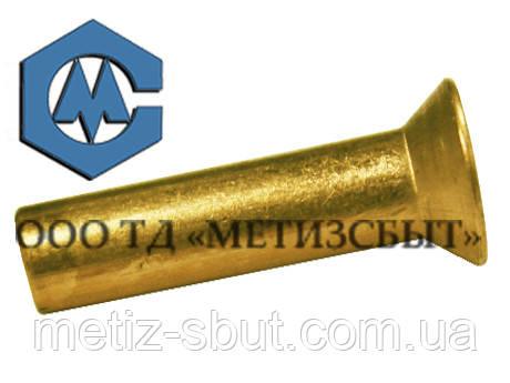 Заклепка ГОСТ 10300-80; DIN 661;від Ø3-Ø12 Латунь