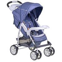 Прогулочная коляска Quatro Imola Jeans 11 темно-голубая