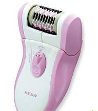Эпилятор электрический + насадка для пиллинга KEDA - 180