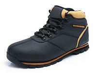 Кожаные зимние утепленные черные ботинки EXPANDER CAT  41-46 код: 6093867666
