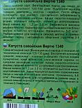 Капуста савойська Вертю 0,3 г, фото 2