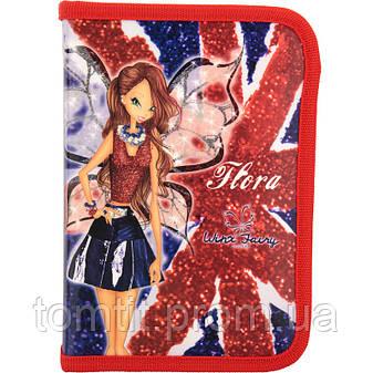 Пенал - книжка Winx fairy couture (Винкс кутюр) раскладной с 1 отворотом, ТМ Kite, фото 2