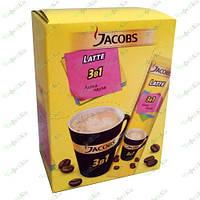 Кофе растворимый Jacobs 3в1 Latte 21 пак (Якобс)