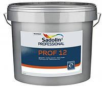 Латексная краска Sadolin Prof 12 2,5л - Латексная шелко-матовая краска для стен и потолка (Садолин Проф 7)