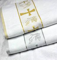 Крыжма полотенце для крестин (Турция)