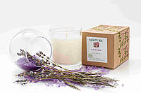 """Ароматизированные соевые свечи - лосьон ТМ """"SO PURE""""  Lavender"""