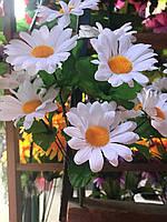 Ромашки Искусственные цветы Букет белого цвета