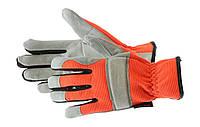 Перчатки Builder Kapriol, кожаные с вентиляционными отверстиями
