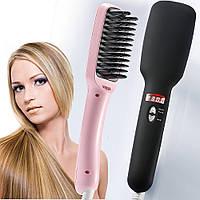 Расческа для выпрямления волос 2 in 1 PTC Heating