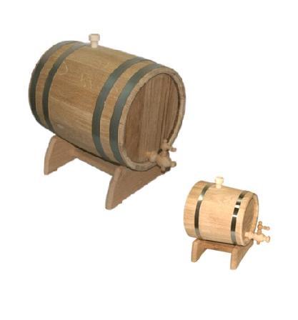 Бочки и жбаны дубовые для вина, пива, коньяка, водки или кваса