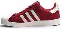Мужские кроссовки Adidas Superstar Vulc ADV Burgundy Bordo