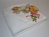 Крестильное полотенце плед Крыжмо для крещения