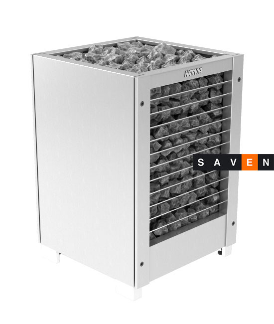 Электрическая печь (каменка)  Harvia Modulo MDS160GSA steel для сауны и бани