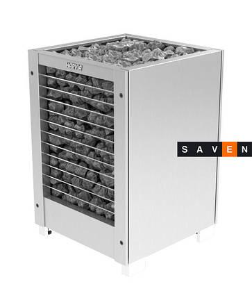 Электрическая печь (каменка)  Harvia Modulo MDS160GSA steel для сауны и бани, фото 2