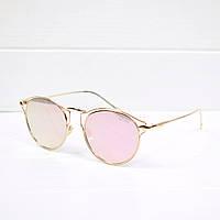 Очки женские от солнца Dior Flash пудра, магазин очков