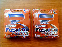 Кассеты для бритья Gillette Fusion Power 8 шт
