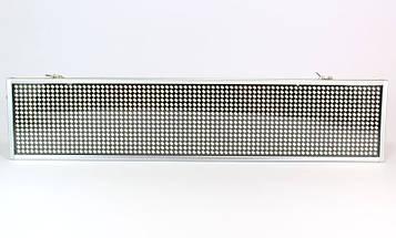 """Вывеска светодиодная внутренняя """"бегущая строка""""  LED 100 х 20см. с белыми диодами, фото 3"""