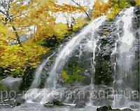 Игра Картины по номерам (MR-Q1859) Водопад и золотые листья