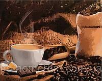 Игра Картины по номерам (MR-Q1951) Кофе с шоколадом
